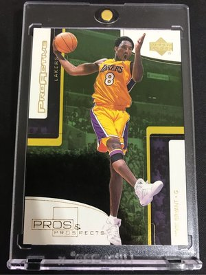 🐍2000-01 Upper Deck Pros & Prospects Proactive #PA1 Kobe Bryant