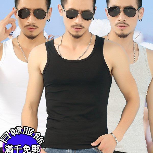 日韓服飾  男士背心棉青年透氣修身型 打底跨欄工字吊帶汗衫寬鬆 潮 亞麻短袖t恤背心Pol