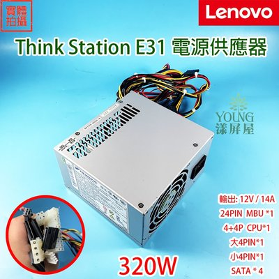 【漾屏屋】含稅 Lenovo 聯想 E31 320W 原廠 電源供應器 12V 14A 54Y8891