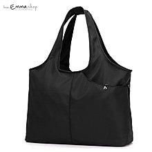 EmmaShop艾購物-夏日必備簡約時尚大容量防水尼龍背心包/媽媽包/托特包/尼龍包
