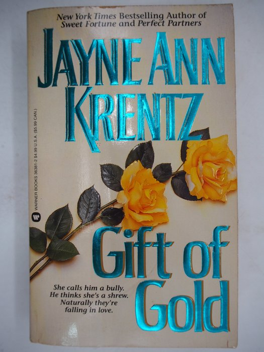 【月界二手書店】Gift of Gold_Jayne Ann Krentz 〖外文小說〗CJO