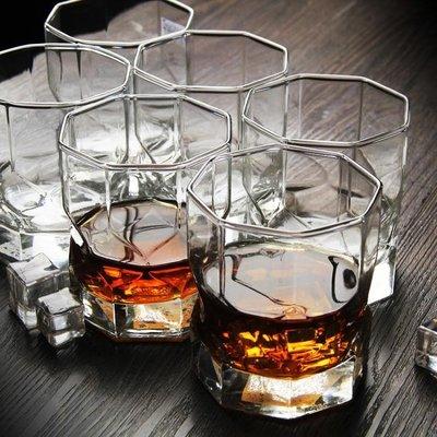 弓箭樂美雅6隻裝方形洋酒杯玻璃杯啤酒杯烈酒杯水杯 威士忌酒杯yi   全館免運
