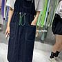 (現貨)韓國吊帶牛仔連身裙