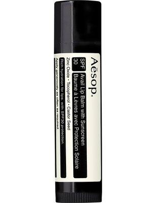 全新正品。澳洲 Aesop 。防曬護唇膏SPF30 5.5g 。預購