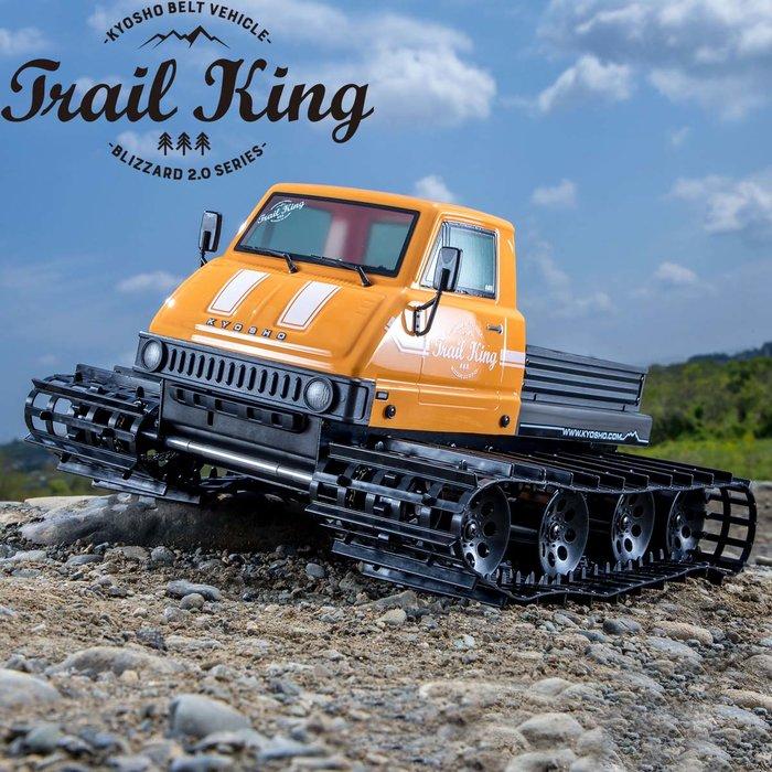 大千遙控模型  34903T1 1/12 EP Trail King Color Type 2 探險號電動履帶車 (黃色
