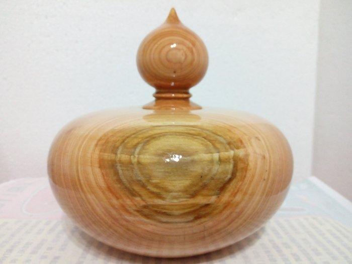 【九龍藝品】台灣紅檜 聚寶盆 寬約16公分 (2) V1211