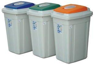 315 ~上市上櫃 ~CL95 日式分類垃圾桶*1入組 資源回收桶 掀蓋式 長型 分類桶 傘桶