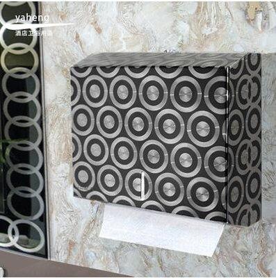 【優上】壁掛式不銹鋼 紙巾盒 抽紙盒 衛生間 酒店 擦手紙盒架箱夢想圓