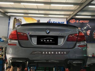 BMW F10 P款 碳纖維尾翼 CARBON尾翼五系列
