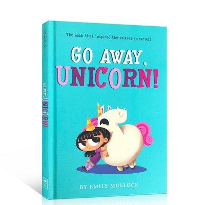 英文原版 走開,獨角獸Go Away, Unicorn 兒童啟蒙繪本經典童話故事翻翻書紙板書精裝 3-6歲幼兒讀物親子育