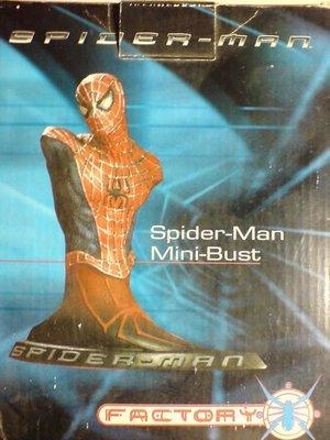 蜘蛛人 限量絕版 動感胸像MARVEL SPIDERMAN MINI-BUST