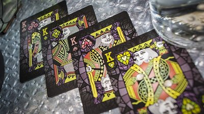 彩色玻璃單車牌 彩色玻璃撲克牌 Bicycle Stained Glass Behemoth Playing Cards