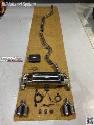 SPY國際 JHG Exhaust System BMW F34 3GT 320 328 中尾段可變閥門 排氣管