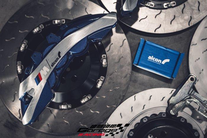 德朋國際/公司貨 ALCON 前RC6 六活塞卡鉗 後加大碟卡鉗 BMW X5 實裝