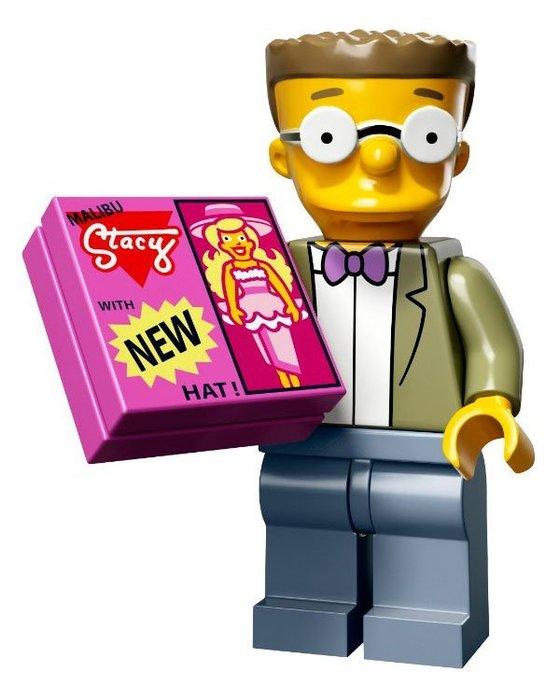 現貨【LEGO 樂高】益智玩具 積木/ Minifigures人偶系列:辛普森2代人偶包 艾甲甲 71009