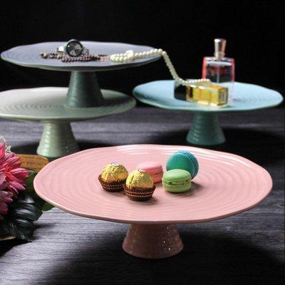高腳甜點盤-婚宴點心架 蛋糕盤 甜品盤  高腳架 蛋糕展示盤 歐式水果托盤_☆找好物FINDGOODS☆