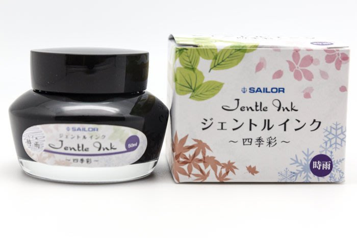 【Penworld】日本製 Sailor寫樂 四季彩瓶裝墨水 50ml