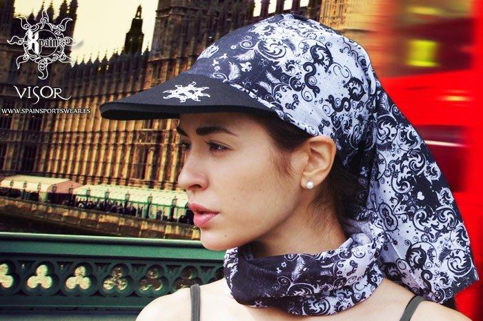 Spain Multifunction Headwear Visor 西班牙多功能頭巾帽檐款 自行車帽 登山帽 休閒帽
