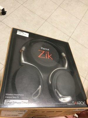 parrot zik 主動降噪 耳機 出清 原購約13000元 贈副廠電池 愛買家族 正貨 starck 設計