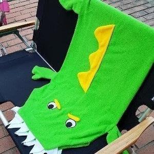 MAY SHOP【S106112208】卡哇伊~短尾鱷睡袋Short-tailed crocodile 保暖毯