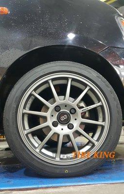 ENKEI SC23 15吋鋁圈 平光灰 4/100 4/108 5/100 5/114.3 SOLIO POLO