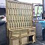 立體竹編牆合併文化展示櫃S1000-BSF22000(不含運費及稅金)
