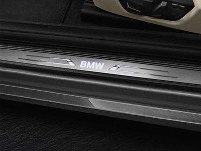 【樂駒】BMW 原廠 F22 F87 LCI LED 發光 迎賓踏板 車門 門檻 改裝 精品 車室 內裝
