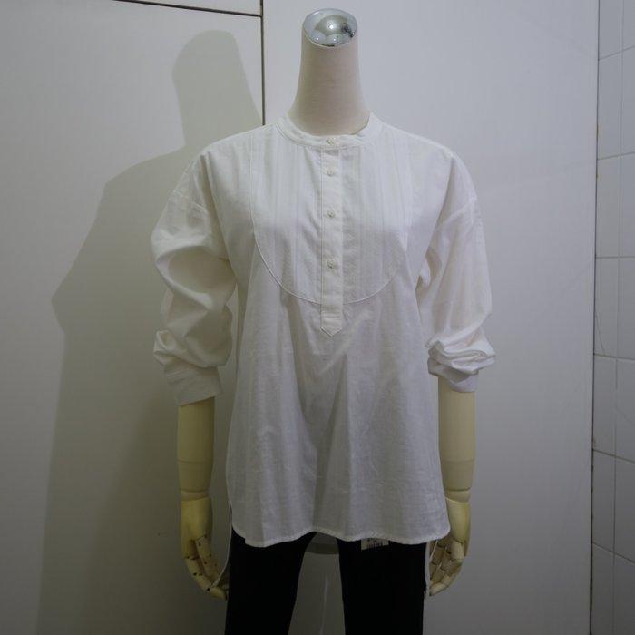 ☆注目の日本品牌north object de petit 2020秋冬新作白色OVER SIZE長袖襯衫☆