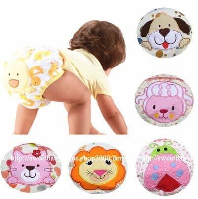【批貨達人】寶寶幼兒動物繡花學習褲7色 內褲