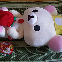 特賣San-x bear(relax bear)日本版懶熊鬆弛熊靚靚聖誕大公仔15吋高/37cm Rilakkuma特賣