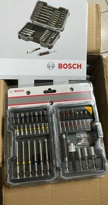 現貨特價 德國 BOSCH 博世 43件起子頭組 組合包 起子頭 套筒 接桿 星型 螺絲 配件組 套裝組
