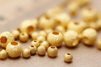 看山美物·玉器 足金 999黃金 磨砂轉運珠 路路通 是一個的價格