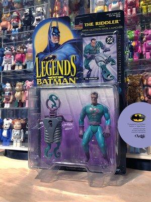 ArtLife @ KENNER 1995 Legends Batman Riddler 蝙蝠俠 猜謎先生 絕版老公仔