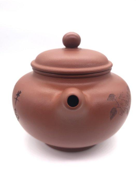 早期輟球紅土茶壺(朱泥)(https://asta360.com/spin/1597904159OFK)