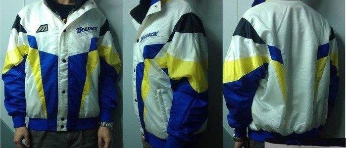 =小綿羊= 庫存特賣 MIZUNO JACKET 黃藍(偏紫) 美津濃 防風雨 保暖 兩件600免運