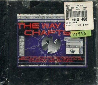 *還有唱片行* THE WAY OUT CHAPTER / HARDLEADRS 全新 Y1776