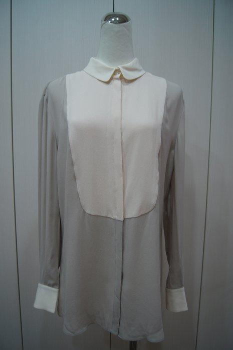 Alexander McQueen  灰色粉拼接絲衫    原價   45900    特價 8500