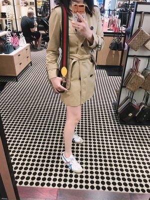 蕾蕾美國代購 Coach 蔻馳中長風衣外套