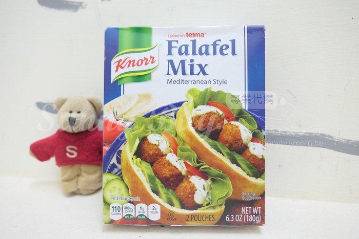 【Sunny Buy】◎現貨◎ Knorr Falafel Mix 地中海風味 180克 鷹嘴豆 小麥粉