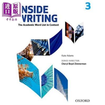 Oxford Inside Writing Level 3 英文原版 牛津Inside學術英語寫作 第3級 學生書帶線上