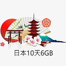 日本Softbank上網卡10天6GB吃到飽