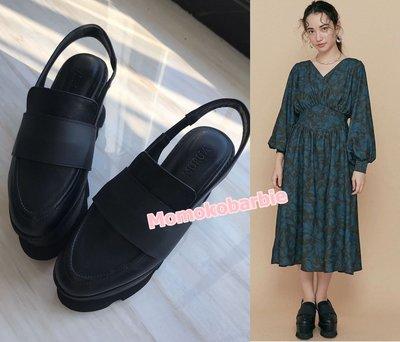 ☆搖滾甜心【AE0332】日本2020日單SLY EMODA GYDA murua MOUSSY復古個性厚底鞋涼鞋械型鞋