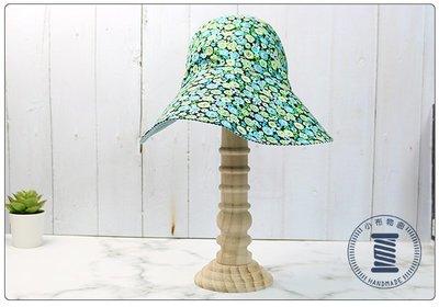 ✿小布物曲✿ 手作3D遮陽帽- 大帽檐精巧手工車縫製作 棉質透氣內裡 100%純棉進口布料質感超優