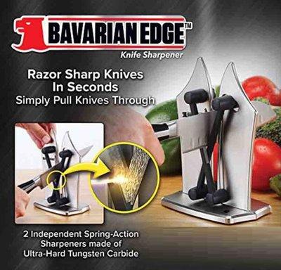 ☆╮布咕咕╭☆avarian Edge Knife Sharpener 快速家用精密彈簧鎢鋼卷筆刀磨刀器