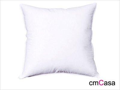 = cmCasa = [444]柔實飽滿 50x50棉花抱枕芯 搭配賣場內的抱枕套