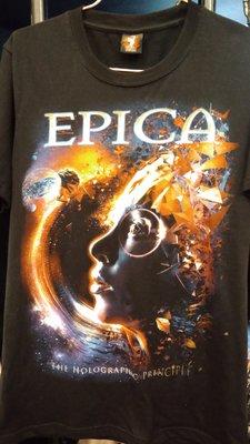 【搖滾帝國】EPICA / The Holographic Principle 短袖 T恤