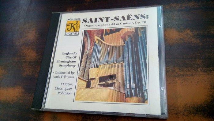 好音悅 TAS 老K 大K Klavier Saint-Saëns 聖桑 第三號交響曲 管風琴 USA美版 無IFPI