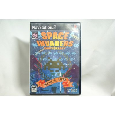 [耀西]二手 純日版 SONY PS2 太空侵略者 SPACE INVADERS -ANNIVERSARY- 含稅附發票