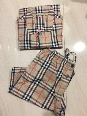 Burberry 真品 經典格紋男士睡衣M號 英國門市購回 精品 疫情特價3980