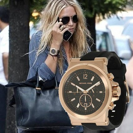 【KOIKOI戀戀時尚精品】Michael Kors 玫瑰金 時尚品味運動風格三眼腕錶 MK8184 手錶 免運有保固